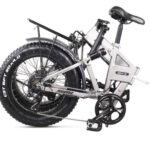 Vélo électrique pliant