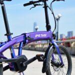 Vélo PESU électrique pliant